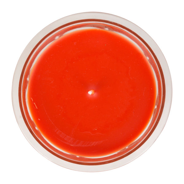 bougie parfumée orange sanguine pour les longues soirées d'hiver