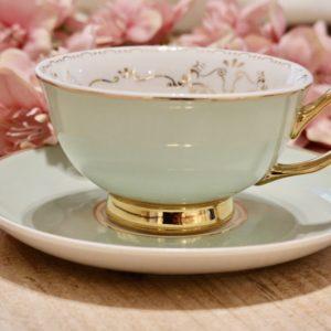 Tasse et sous tasse romantique Alice aux pays des merveilles