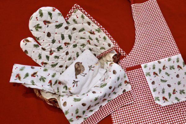 coffret cadeau textile cuisine