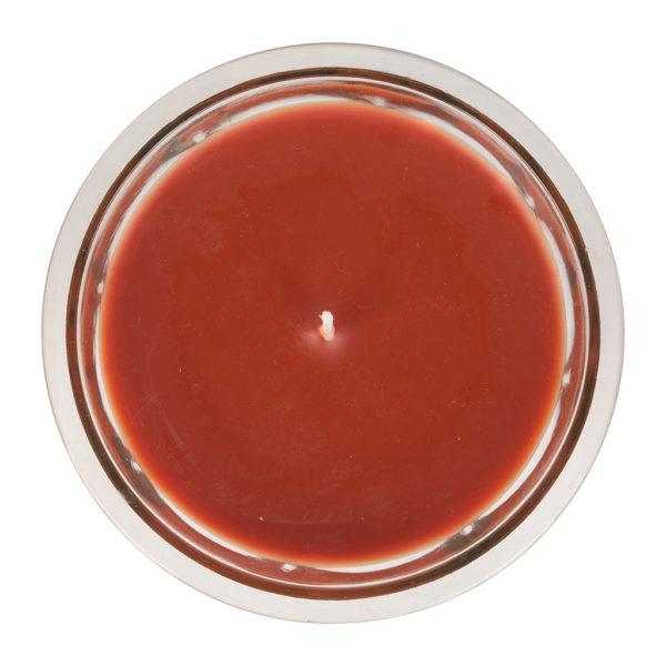 bougie parfumée pot de confiture paraffine et verre 45h