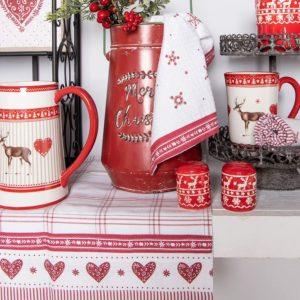 textile de table clayre en eef beauté de l'hiver
