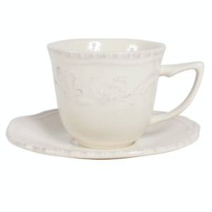 Tasse Et Sous-Tasse à Café Collection Lise - Comptoir de Famille
