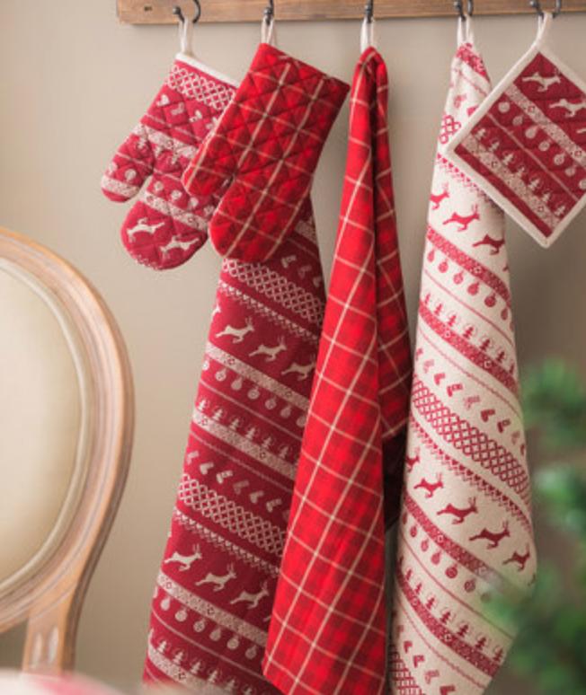 collection textile de table un noel dans le nord