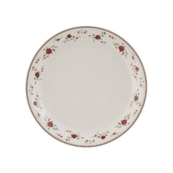 Assiette à Dessert En Céramique Collection Rose