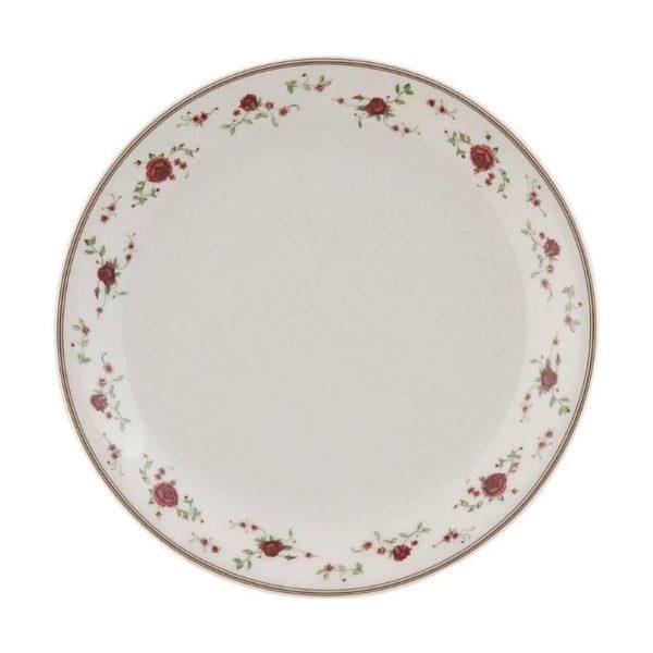 assiette à diner claire en eef