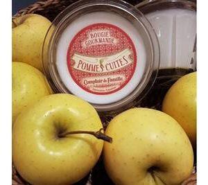 pomme cuite comptoir de famille bougie