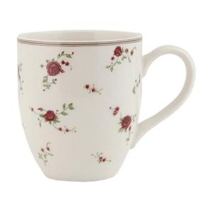 mug en céramique 30 cl avec dessin petites roses