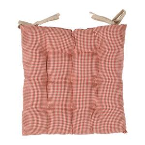 galette de chaise rouge campagne comptoir de famille