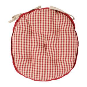 galette de chaise ronde mamie carreaux