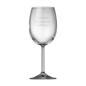 6 verres à vin appellation