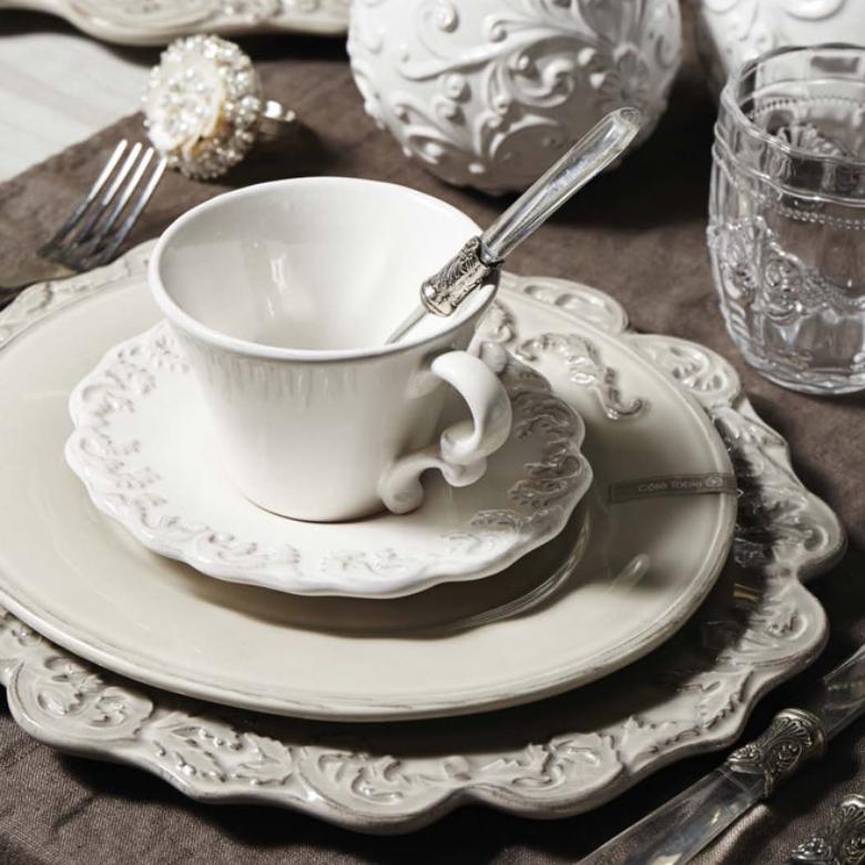 service de table Trianon blanc