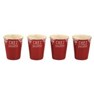 4 tasses à expresso chez paulette comptoir de famille