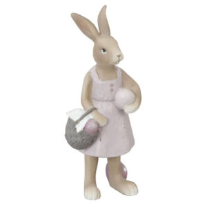 statue lapin pâques clayre en eef