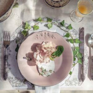 art de la table collection printemps pâques