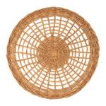 set de table rond en rotin 35 cm diamètre collection tantine comptoir de famille