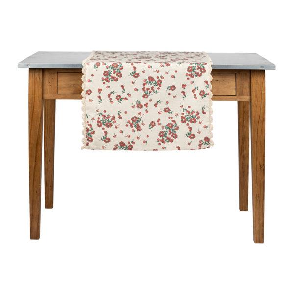 chemin de table 150x50 cm collection groseille comptoir de famille