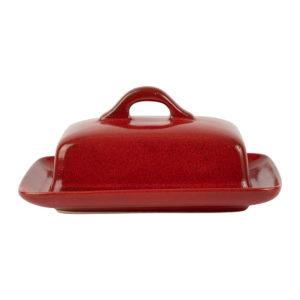 beurrier en grès rouge comptoir de famille collection suzanne