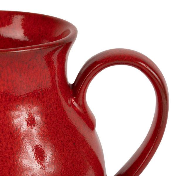 pichet en grès rouge comptoir de famile