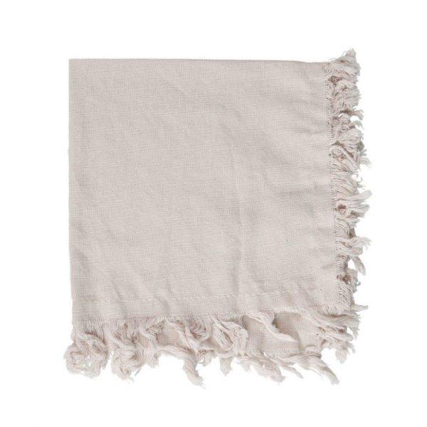 serviette en tissus 35x35 cm couleur lin en coton