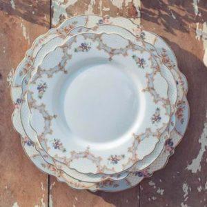 service de table en porcelaine porto venere blanc mariclo