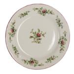 assiette à dîner fleur de printemps Avec rose style romantique