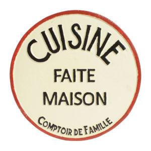 dessous de plat au four en fonte Cuisine campagne chic comptoir de famille