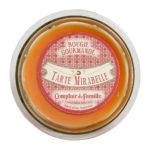 bougie 220g orange parfum mirabelle