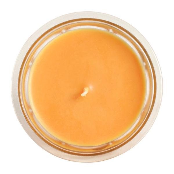 bougie 1 mèche parfum mirabelle 220g