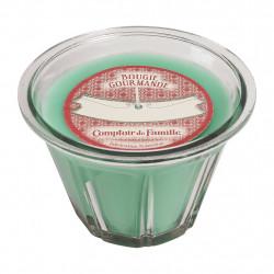 bougie parfumée comptoir de famille verte 45h comptoir de famille