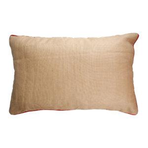 coussin dosseret couleur naturelle en lin 50x70 cm