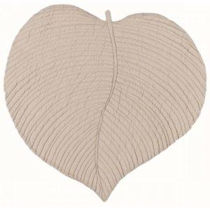 acheter set de table en forme de feuille beige style automne coton épais