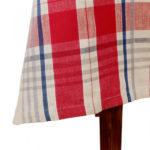 nappe carreaux 150x150 cm comptoir de famille batignolles