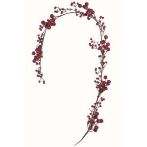 branche de baies rouges de noël blanc mariclo