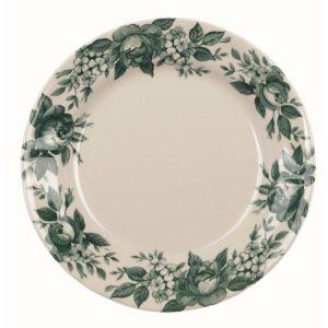 acheter vaisselle de noel verte romantique
